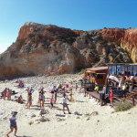Strand Zumba heiss und nicht fettich