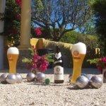 Algarve Zavial Strand - Bungalows Quinta Al Gharb Happy Hour Bar