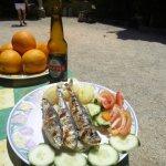 Zavial Restaurant algarve lecker schmecker fish algarve