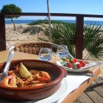 Zavial Restaurant algarve lecker schmecker fish algarve