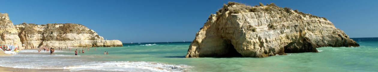 Algarve Zavial Strand