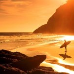 Algave Zavial go-surf Strand